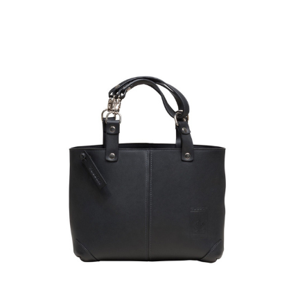 City Small Cuir Noir