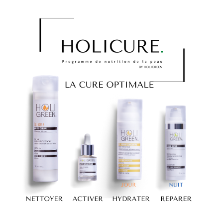 HOLICURE. La Cure Optimale [Programme de nutrition de la peau] By Holigreen