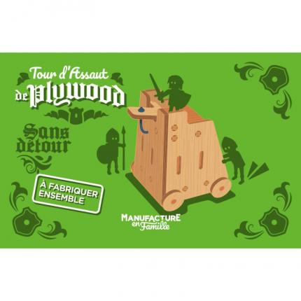 Tour d'assaut de Plywood